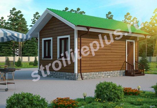 Одноэтажный домик 5х4 своими руками
