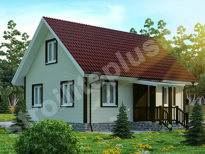 ДОМА И КОТТЕДЖИ ФОТО - Современный деревянный дом