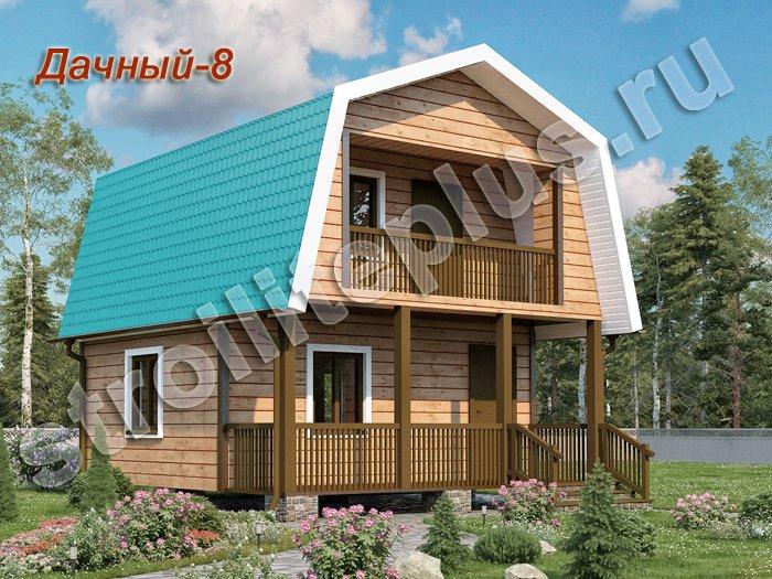 Деревянные дома, строительство недорогих деревянных домов по.